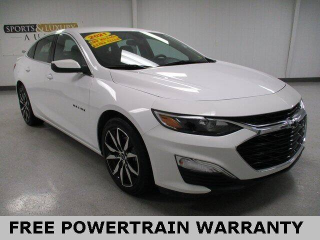 2021 Chevrolet Malibu for sale at Sports & Luxury Auto in Blue Springs MO