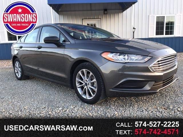 2017 Ford Fusion for sale at Swanson's Cars and Trucks in Warsaw IN