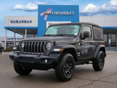 2018 Jeep Wrangler for sale at Suburban Chevrolet of Ann Arbor in Ann Arbor MI