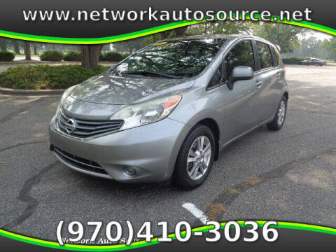 2014 Nissan Versa Note for sale at Network Auto Source in Loveland CO
