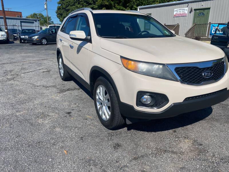 2011 Kia Sorento for sale at Allen's Auto Sales LLC in Greenville SC