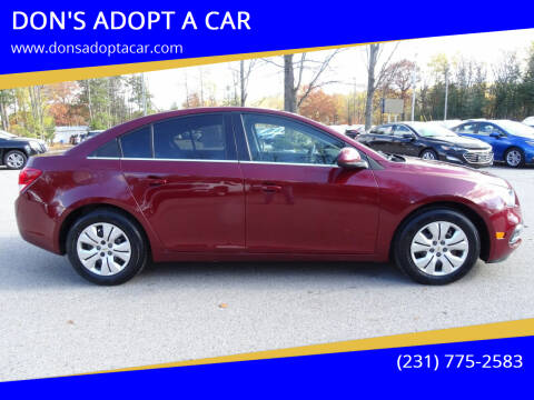 2016 Chevrolet Cruze Limited for sale at DON'S ADOPT A CAR in Cadillac MI