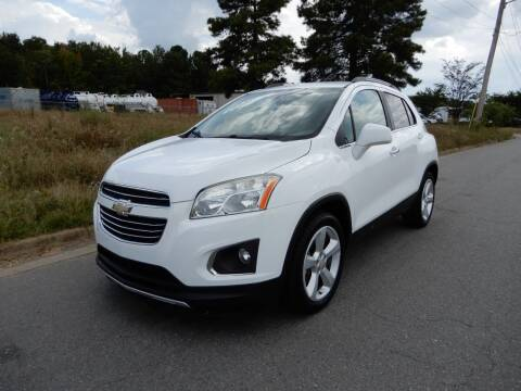 2016 Chevrolet Trax for sale at United Traders Inc. in North Little Rock AR