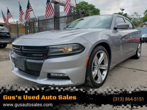 2018 Dodge Charger for sale at Gus's Used Auto Sales in Detroit MI