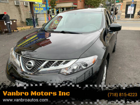 2014 Nissan Murano for sale at Vanbro Motors Inc in Staten Island NY