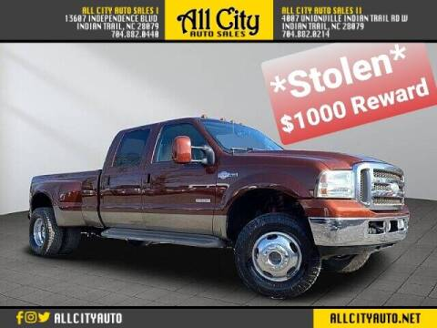 2005 Ford F-350 Super Duty for sale at All City Auto Sales in Indian Trail NC