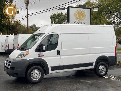 2017 RAM ProMaster Cargo for sale at Gaven Auto Group in Kenvil NJ