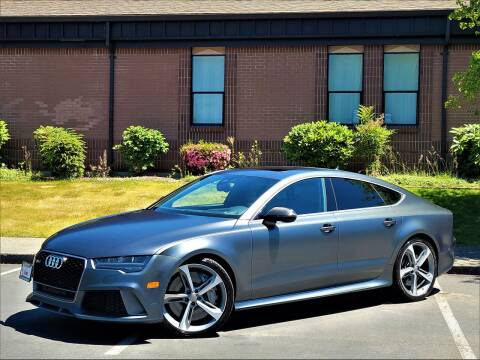 2017 Audi RS 7 for sale at SEATTLE FINEST MOTORS in Lynnwood WA