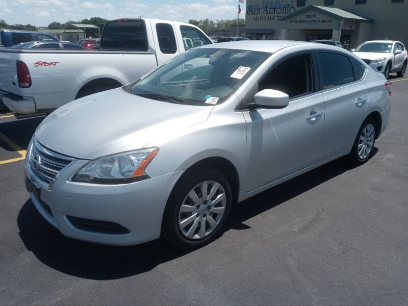 2015 Nissan Sentra for sale at RICKY'S AUTOPLEX in San Antonio TX