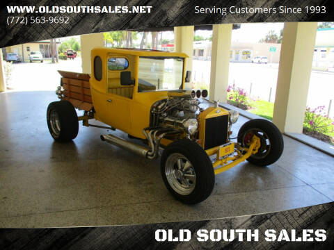 1923 Ford Model T for sale at OLD SOUTH SALES in Vero Beach FL