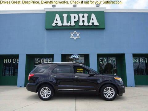 2014 Ford Explorer for sale at ALPHA AUTOMOBILE SALES, LLC in Lafayette LA