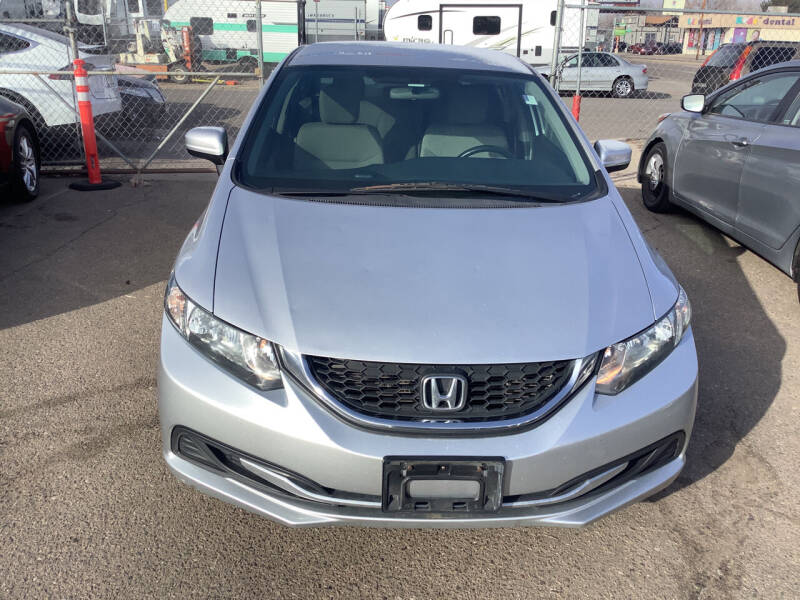 2014 Honda Civic for sale at GPS Motors in Denver CO