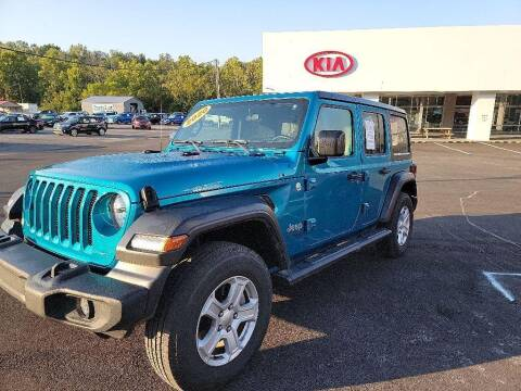 2020 Jeep Wrangler Unlimited for sale at Chantz Scott Kia in Kingsport TN
