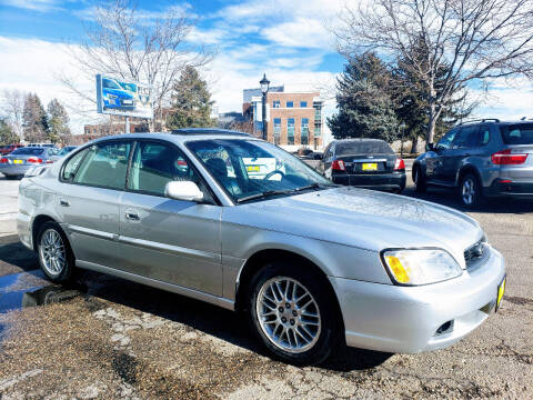 2004 Subaru Legacy for sale at J & M PRECISION AUTOMOTIVE, INC in Fort Collins CO