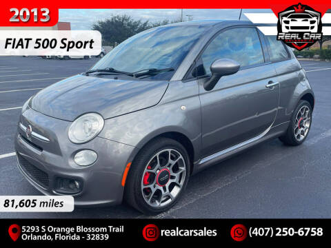 2013 FIAT 500 for sale at Real Car Sales in Orlando FL