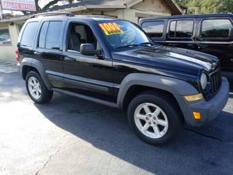 2007 Jeep Liberty for sale at Allen's Friendly Auto Sales in Sanford FL