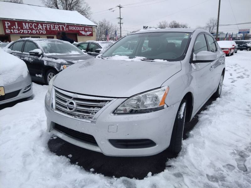 2015 Nissan Sentra for sale at P J McCafferty Inc in Langhorne PA