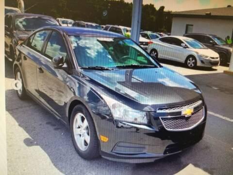 2014 Chevrolet Cruze for sale at Rocky Mount Motors in Battleboro NC