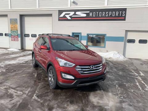 2015 Hyundai Santa Fe Sport for sale at RS Motorsports, Inc. in Canandaigua NY