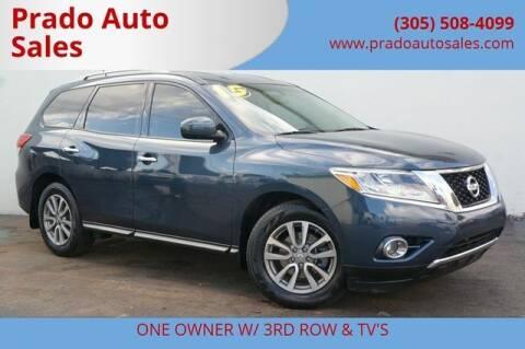 2015 Nissan Pathfinder for sale at Prado Auto Sales in Miami FL