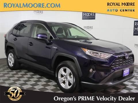 2019 Toyota RAV4 Hybrid for sale at Royal Moore Custom Finance in Hillsboro OR