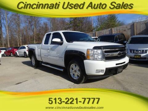 2010 Chevrolet Silverado 1500 for sale at Cincinnati Used Auto Sales in Cincinnati OH
