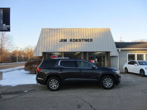 2017 GMC Acadia for sale at JIM KOESTNER INC in Plainwell MI