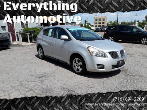 2010 Pontiac Vibe for sale at Everything Automotive in Tonawanda NY