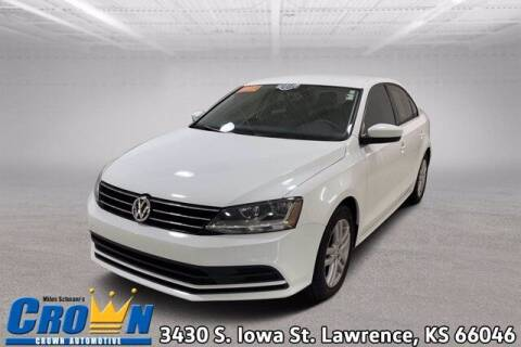 2017 Volkswagen Jetta for sale at Crown Automotive of Lawrence Kansas in Lawrence KS