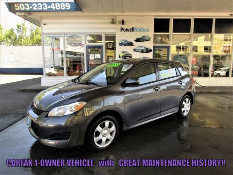 2009 Toyota Matrix for sale at Powell Motors Inc in Portland OR
