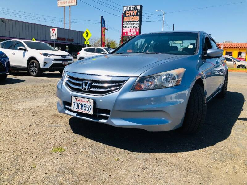 2012 Honda Accord for sale at City Motors in Hayward CA