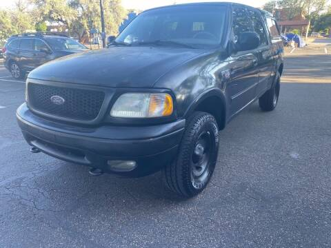 2001 Ford F-150 for sale at AROUND THE WORLD AUTO SALES in Denver CO