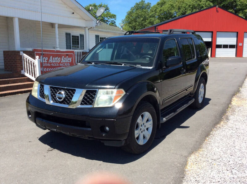 2005 Nissan Pathfinder for sale at Ace Auto Sales - $1500 DOWN PAYMENTS in Fyffe AL