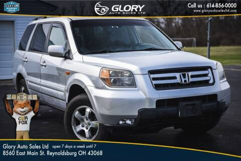 2007 Honda Pilot for sale at Glory Auto Sales LTD in Reynoldsburg OH