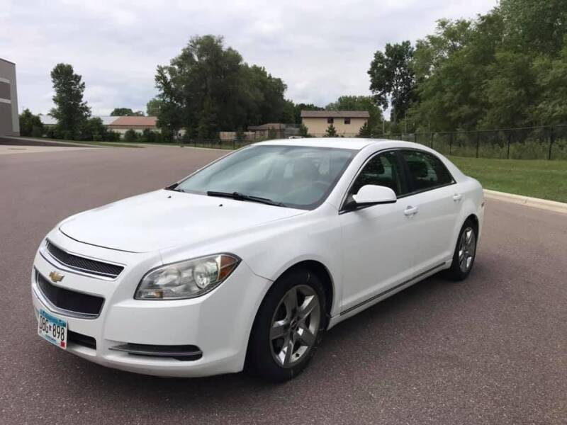 2010 Chevrolet Malibu for sale at Angies Auto Sales LLC in Newport MN