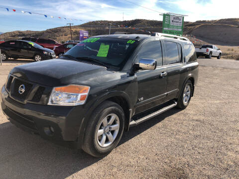 2008 Nissan Armada for sale at Hilltop Motors in Globe AZ