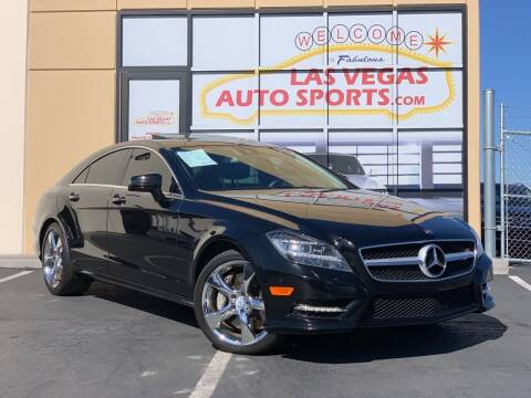 2013 Mercedes-Benz CLS for sale at Las Vegas Auto Sports in Las Vegas NV