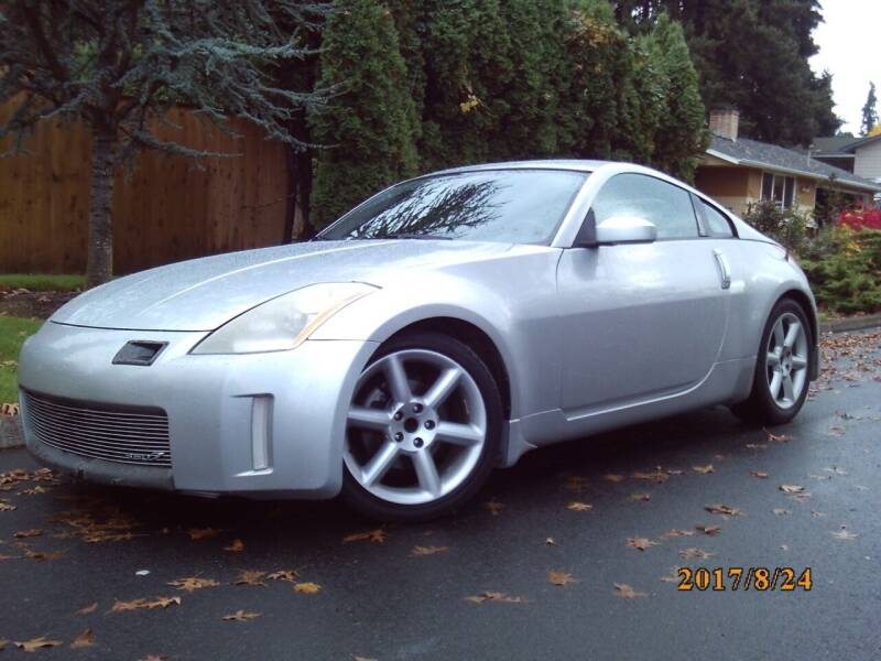 2005 Nissan 350Z for sale at Redline Auto Sales in Vancouver WA