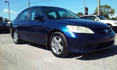 2004 Honda Civic for sale at Pinellas Auto Brokers in Saint Petersburg FL