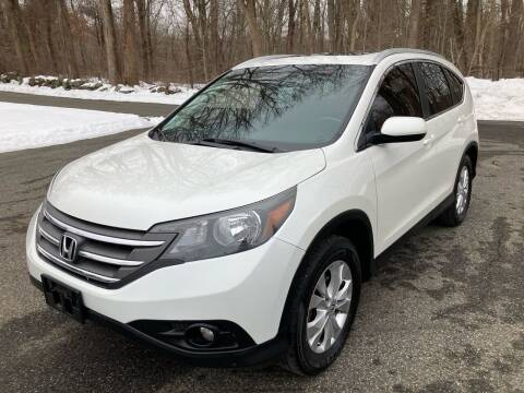 2014 Honda CR-V for sale at Lou Rivers Used Cars in Palmer MA