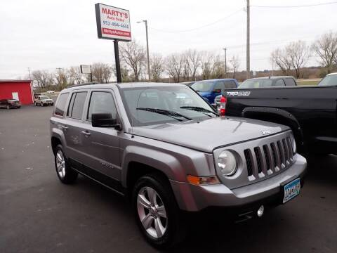 2015 Jeep Patriot for sale at Marty's Auto Sales in Savage MN