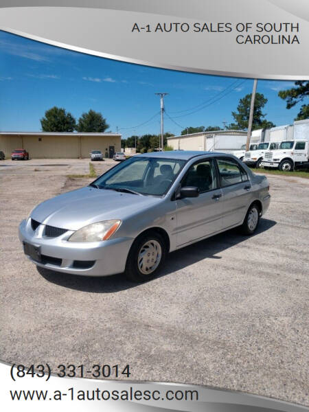 2004 Mitsubishi Lancer for sale at A-1 Auto Sales Of South Carolina in Conway SC