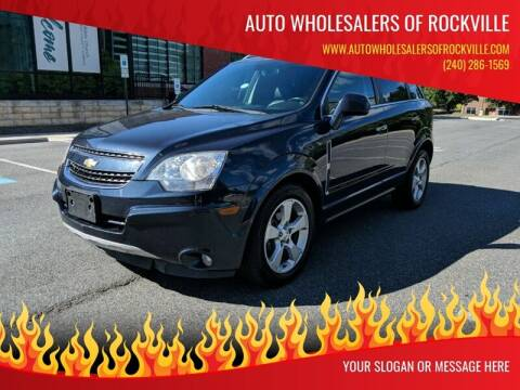 2014 Chevrolet Captiva Sport for sale at Auto Wholesalers Of Rockville in Rockville MD
