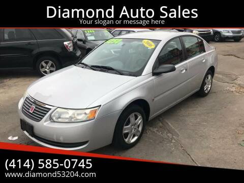 2006 Saturn Ion for sale at Diamond Auto Sales in Milwaukee WI