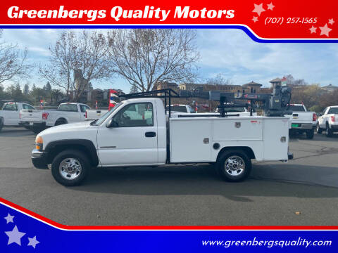 2003 GMC Sierra 2500 for sale at Greenbergs Quality Motors in Napa CA
