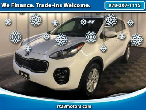2018 Kia Sportage for sale at RT28 Motors in North Reading MA