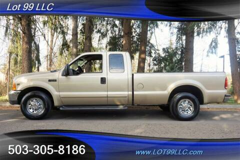 2001 Ford F-250 Super Duty for sale at LOT 99 LLC in Milwaukie OR