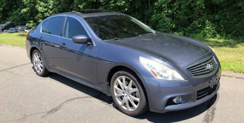 2011 Infiniti G37 Sedan for sale at Choice Motor Car in Plainville CT
