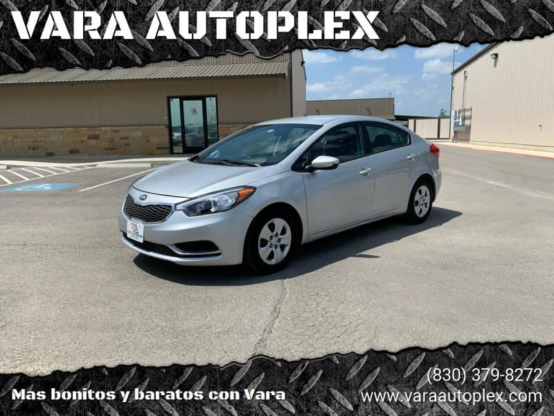 2016 Kia Forte for sale at VARA AUTOPLEX in Seguin TX