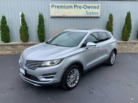 2015 Lincoln MKC for sale at PREMIUM PRE-OWNED AUTOS in East Peoria IL